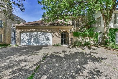 Houston Single Family Home For Sale: 2244 Sul Ross Street
