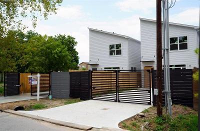 Houston Single Family Home For Sale: 115 E 32nd Street #A