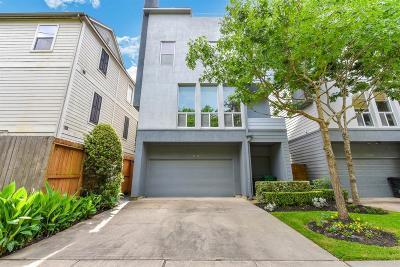 Houston Single Family Home For Sale: 1806 Mason Street