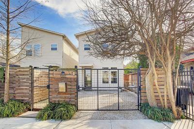 Houston Single Family Home For Sale: 538 E 29th Street
