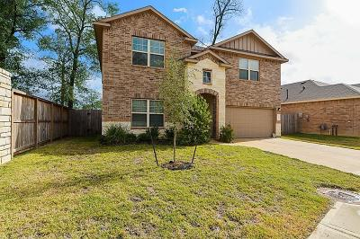 Conroe Single Family Home For Sale: 158 Meadow Mill Drive