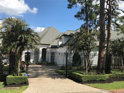 Houston Single Family Home For Sale: 33 W Broad Oaks Drive