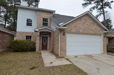 Montgomery Single Family Home For Sale: 11326 Burning Tree Drive