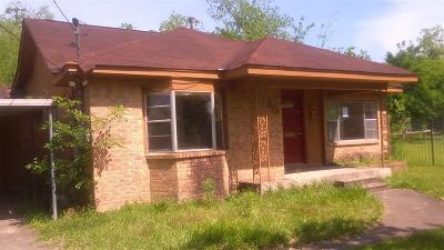 Houston Single Family Home For Sale: 4220 Woolworth Street