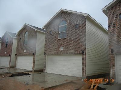 Houston Single Family Home For Sale: 618 E 39th