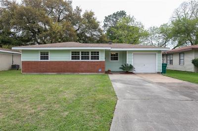 Galveston County, Harris County Single Family Home For Sale: 2705 John Street