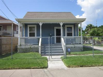 Galveston Single Family Home For Sale: 3918 Sealy Street