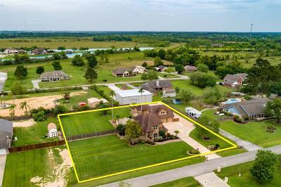 Santa Fe Single Family Home For Sale: 13214 Lynn Lane
