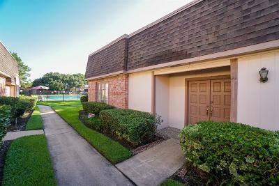 Missouri City Condo/Townhouse For Sale: 2816 Cambridge Lane