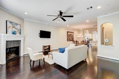 Houston Condo/Townhouse For Sale: 3911 Rose Street