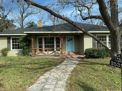 La Grange Single Family Home For Sale: 353 S College Street