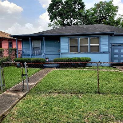 Houston Single Family Home For Sale: 3818 Lydia Street
