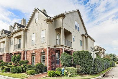 Houston Condo/Townhouse For Sale: 447 N Gate Stone
