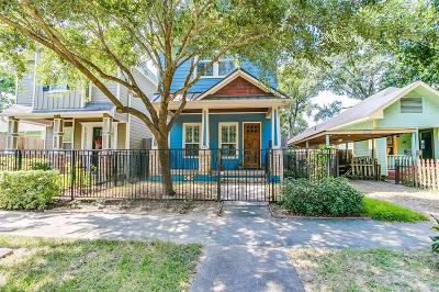 Houston Single Family Home For Sale: 618 W 21st Street
