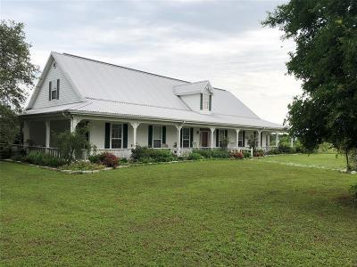 Fayette County Country Home/Acreage For Sale: 3629 W Us Highway 90 Highway W