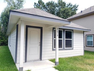 Single Family Home For Sale: 8678 Sassafras
