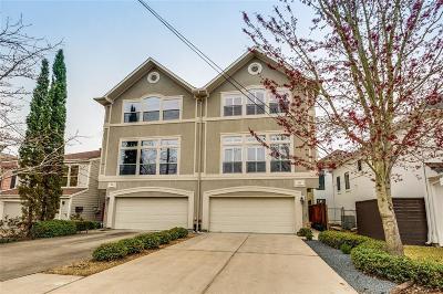 Houston Condo/Townhouse For Sale: 606 Birdsall Street