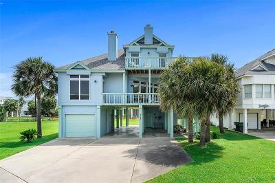 Galveston Single Family Home For Sale: 4110 Ghost Crab Lane