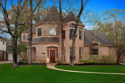 The Woodlands Single Family Home For Sale: 15 Dovewood Place