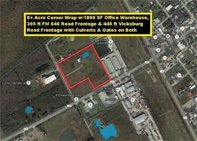 Dickinson Residential Lots & Land For Sale: Fm 646 And Vicksburg