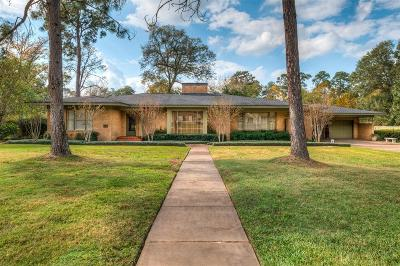 Conroe Single Family Home For Sale: 1403 Thompson Street
