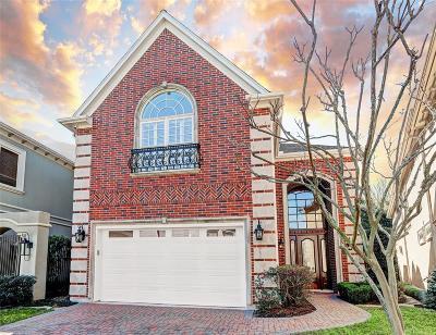 Houston Single Family Home For Sale: 1110 Bayou Island Drive