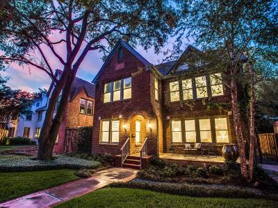 Houston Single Family Home For Sale: 2224 Robinhood Street