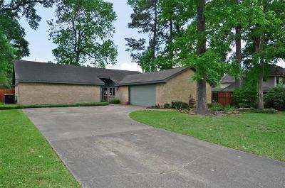 Kingwood Single Family Home For Sale: 2402 Tree Lane