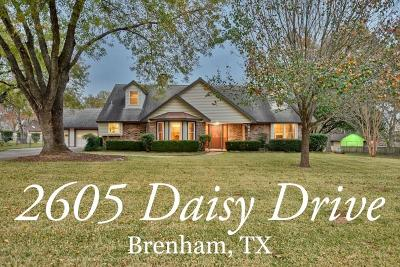 Washington County Single Family Home For Sale: 2605 Daisy Drive