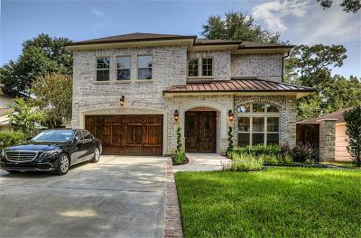 Houston TX Single Family Home For Sale: $1,185,000