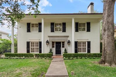 River Oaks Single Family Home For Sale: 3708 Olympia Drive