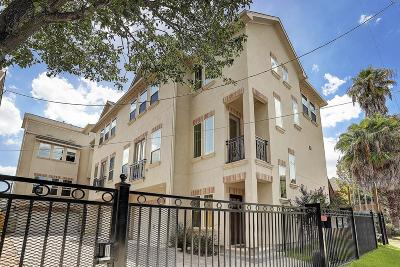 Houston Condo/Townhouse For Sale: 1910 Oakdale #C