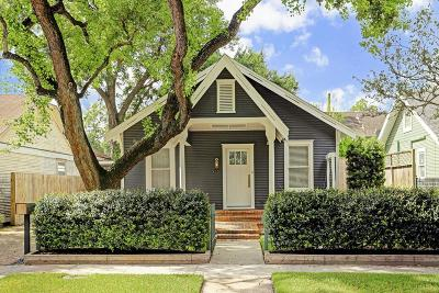 Houston Single Family Home For Sale: 1036 Walling Street