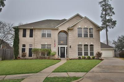 Tomball Single Family Home For Sale: 15839 Laurel Cove