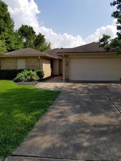 Friendswood Single Family Home For Sale: 1404 Hampton Court