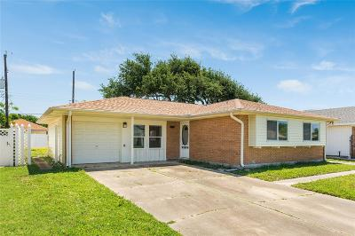 Galveston TX Single Family Home For Sale: $160,000