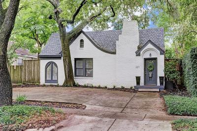 Houston Single Family Home For Sale: 2211 Bissonnet Street