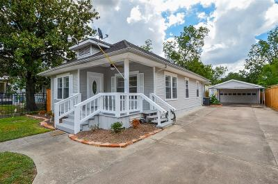 Houston Single Family Home For Sale: 832 E 26th Street