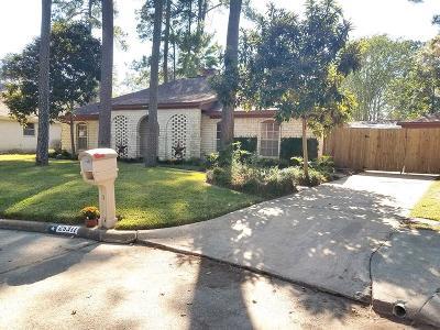 Spring Single Family Home For Sale: 25311 Friar Lake Lane