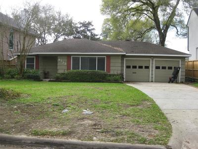 Bellaire Single Family Home For Sale: 4523 Verone Street