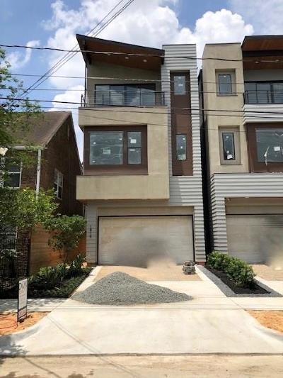 Houston Single Family Home For Sale: 1810 Stanford Street
