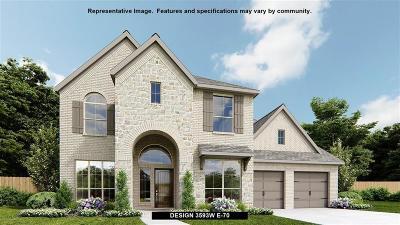 Fulshear Single Family Home For Sale: 3827 Teal Bay Lane