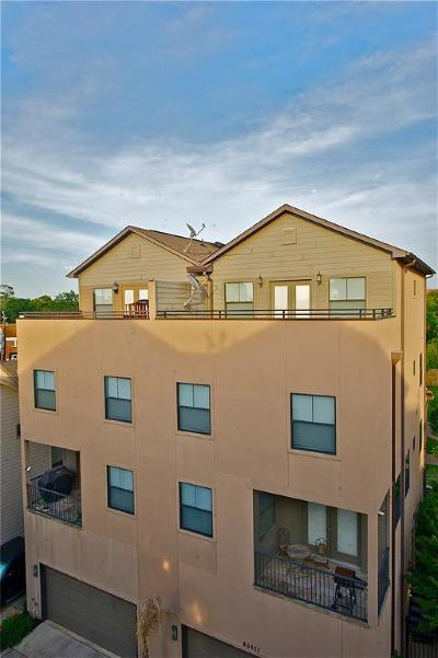 Houston Condo/Townhouse For Sale: 2609 Riverside Drive #B