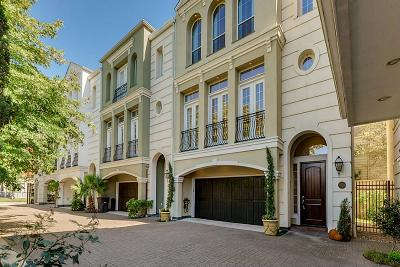 Houston Condo/Townhouse For Sale: 1814 Binz Street #D