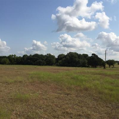 Fayette County Farm & Ranch For Sale: 0000 W Highway 90 Highway W