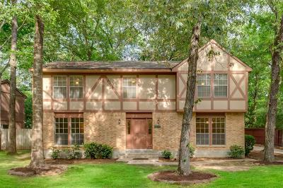 The Woodlands Single Family Home For Sale: 15 Hickorybark Drive