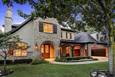 Houston TX Single Family Home For Sale: $2,075,000