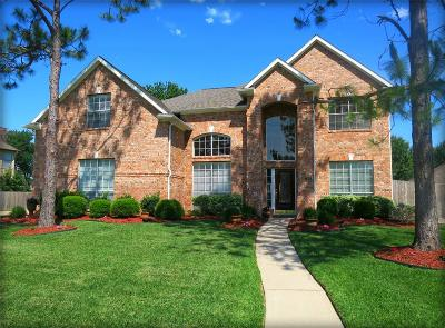 Friendswood Single Family Home For Sale: 1406 Cambridge Drive