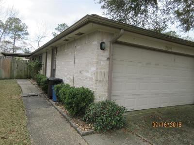 Humble Single Family Home For Sale: 3626 Woodlace Drive