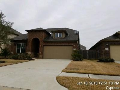 Cypress Single Family Home For Sale: 15630 Windsor Bluff Drive